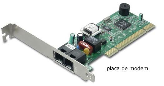 imagem da placa de modem