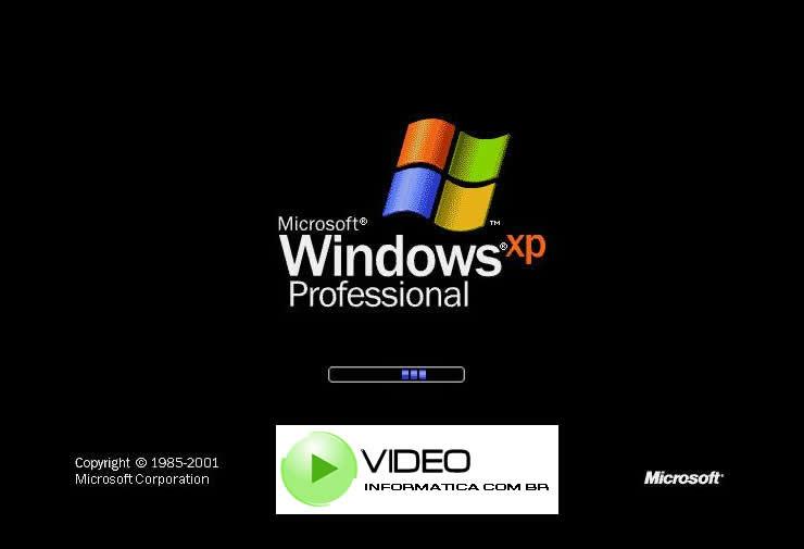 Tela de Inicialização do Windows